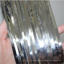 Decoración de fiesta Papel metálico Lámina de oro Fondo de papel Cortina de lluvia