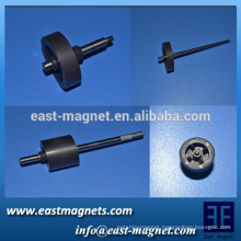 sintered Ring Ferrite magnet with Multiple poles with rotor/8-pole and 16-pole rubber-plastic magnet