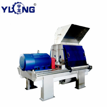 YULONG GXP75*75 hammer mill with cyclone