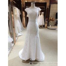 Cap Рукавом Русалка Свадебное Платье Свадебное