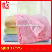 Manta de bebê do cobertor do bebê do cobertor do bebê do algodão do cobertor da fábrica