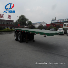 20 Feet Flatbed Semi Trailer Truck