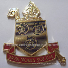 Customized Medallion& Zinc Die Cast Process & Gold Plating