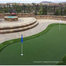 Gazon artificiel pour le golf