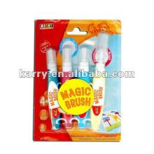 cor de água para crianças com escova mágica
