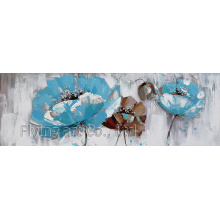 Acrylic Modern Flower Oil Painting Wall Art