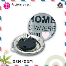 Round DIY Customized Flashing LED Button Pin Badge
