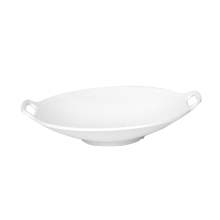9631 Wholesale Custom Hot sale best quality melamine tableware White Plate Kitchen Plates for Restaurant