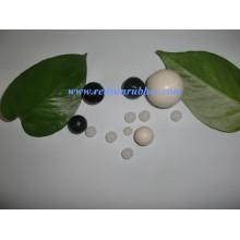 Bola de silicone contínua clara de 3mm