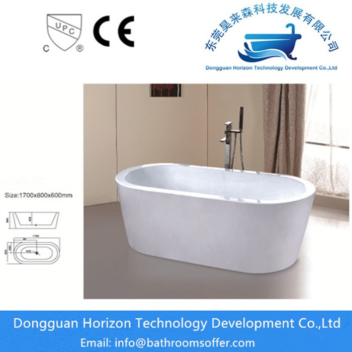 Oval Spa Bathtub