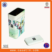 Hot Selling Rectangular Tea Tin, Tin Box Manufacturer, Tea Tin Box