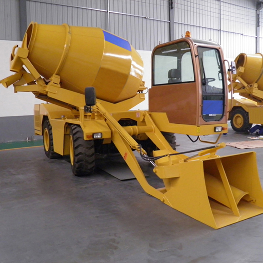 1 4mobile concrete mixer