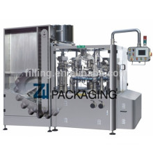 Automatic High-speed double heads Soft Tube Filler and Sealer ZHF-160