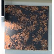 Мраморный цвет различных конструкций алюминиевый предварительно окрашенный лист