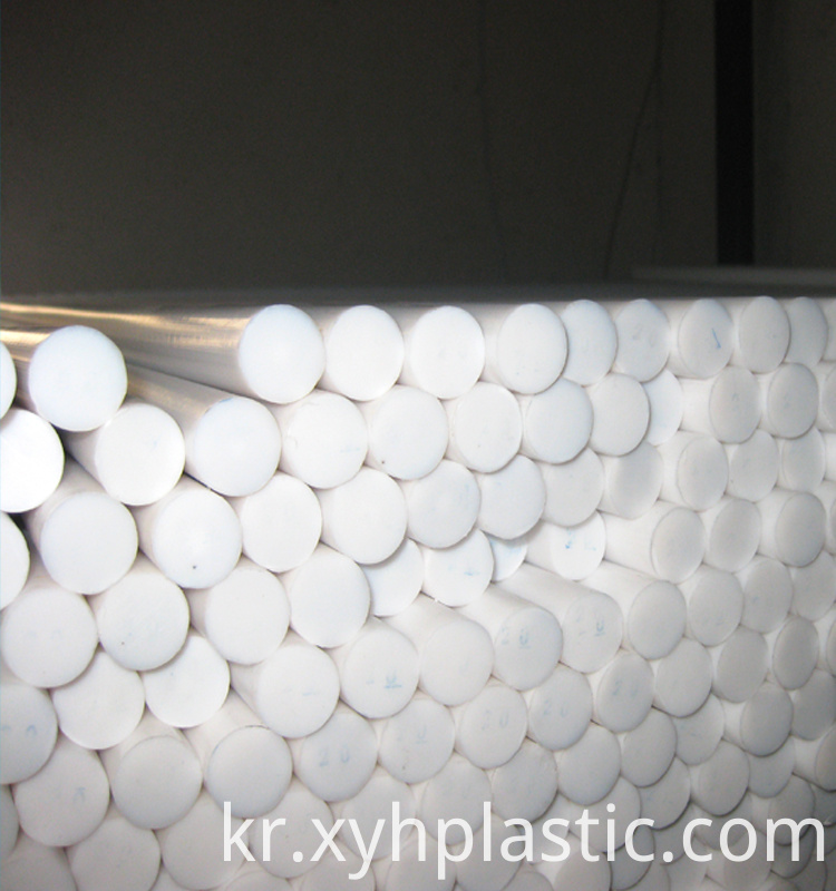 Expanded Molded PTFE Teflon Rod Bar