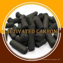 Carvão ativado em coluna com base em carvão para máscara