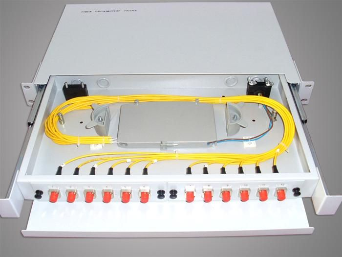 12 Port Fiber Patch Panel