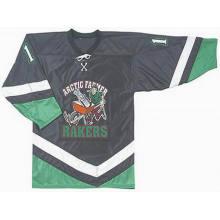 Jersey de hockey sobre hielo suave para la venta al por mayor