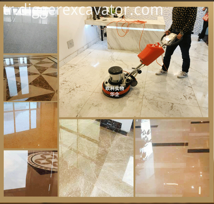 Granite Marble Floor Tile Polishing Machines