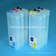 280 ml * 12 couleurs pour HP Designjet Z3200 recharge cartouche d'encre pour HP 70 73