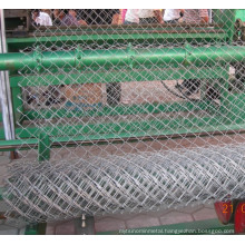 Chain Link Fence Use in Sports (galvanized)