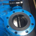 Electric soft sealed butterfly valve