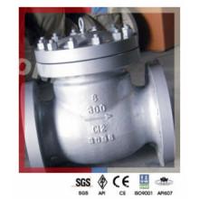 """C12 Válvula de retenção de elevação / balanço em aço da Classe 300 (6 """")"""