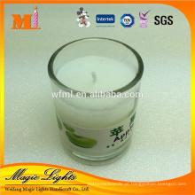 China Fábrica de Abastecimento De Vidro frasco Partido Vela