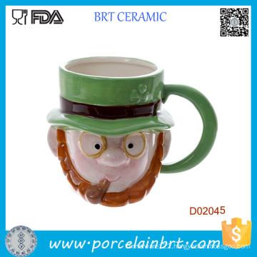 Novelty Ceramic Monster Head Ceramic Mug Halloween Gift