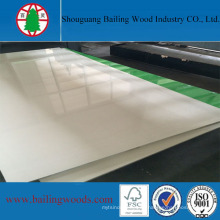 Melamina UV MDF Brillante Blanco 18mm