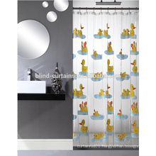 PVC duck shower blinds curtain
