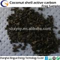 La fuente de la fábrica alto valor de yodo de coco cáscara de coco activado carbón competitivo precio de carbono activado en la India