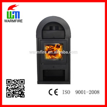 Freestanding designer wood fireplace factory supply WM206-1200