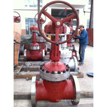 High Pressure Bevel Gear Flange Gate Valve