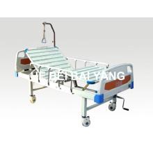 A-110 lit d'hôpital manuel à deux fonctions