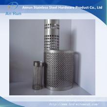 Edelstahl Perforierte Metall Filter Fässer / Rohre / Rohre