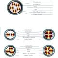 Al XLPE Insulator STA PVC Coat Power Cable