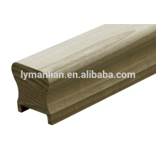 linyi baiyi wood hand railing /wood baluster/recon wood moulding
