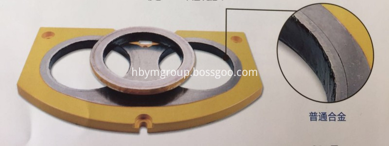 tungsten carbide wear plate