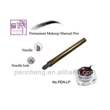 Pinceau de maquillage permanent - outil de sourcils de tatouage