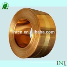 High quality minerals factories supplies ISO UNS standard C22000 brass strips