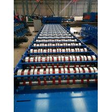 Machine de formage de rouleaux de tuiles galvanisées