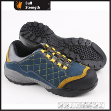 EVA and Rubber Outsole Suede Leather Safety Shoe (SN5319)