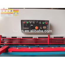 Qc12y-6x1600 nome de ferramentas elétricas / máquina de corte de folha automática