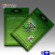 Grüner Tee Plastikbeutel mit Zip-Lock