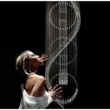 modern chain chandelier indoor decorative light