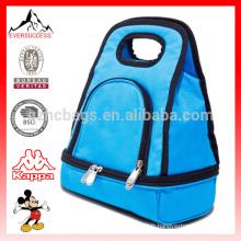 Boîtes à lunch pour garçons - Boîtes à lunch isothermes pour garçons, sacs à lunch thermiques bleus HCC0029