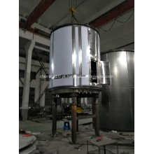 Equipamento de secagem contínua com cloreto de amônio