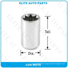 8 Points Tuner Lug Nuts