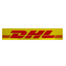 Sinal acrílico não iluminado para o sinal da parede de DHL